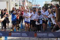 El símbolo del running, Elisa Forte, corrió los 10 k y fue ovacionada en Navarro