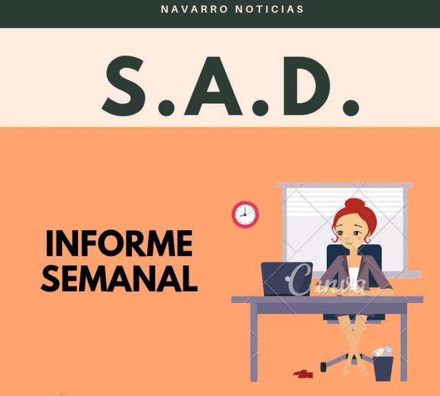 Secretaría de Asuntos Docentes de Navarro INFORMA: