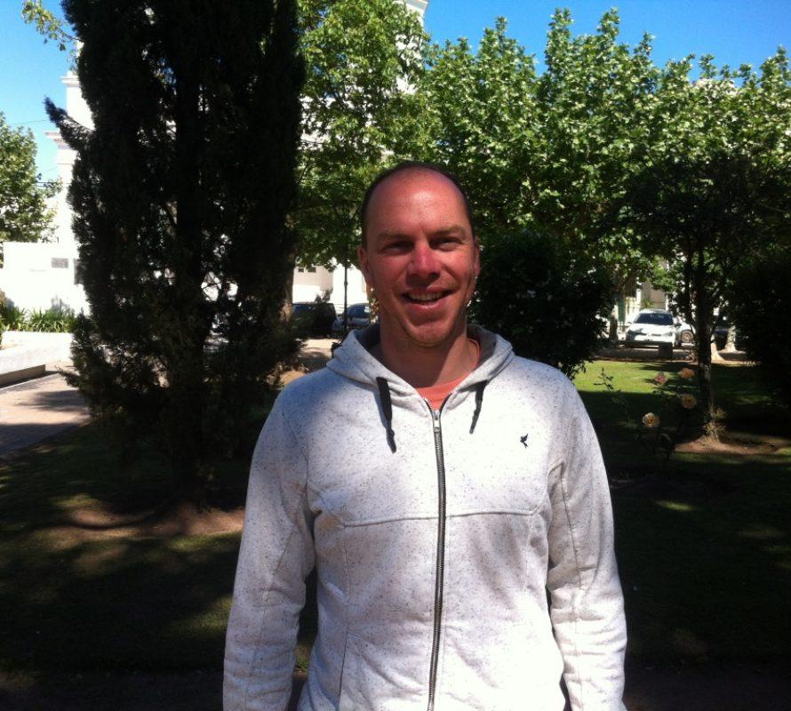 Juan Ignacio Breccia, es el nuevo referente del CDR en Navarro