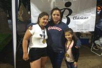 Juli Berón sigue en su trabajo de recaudar para el viaje a EEUU