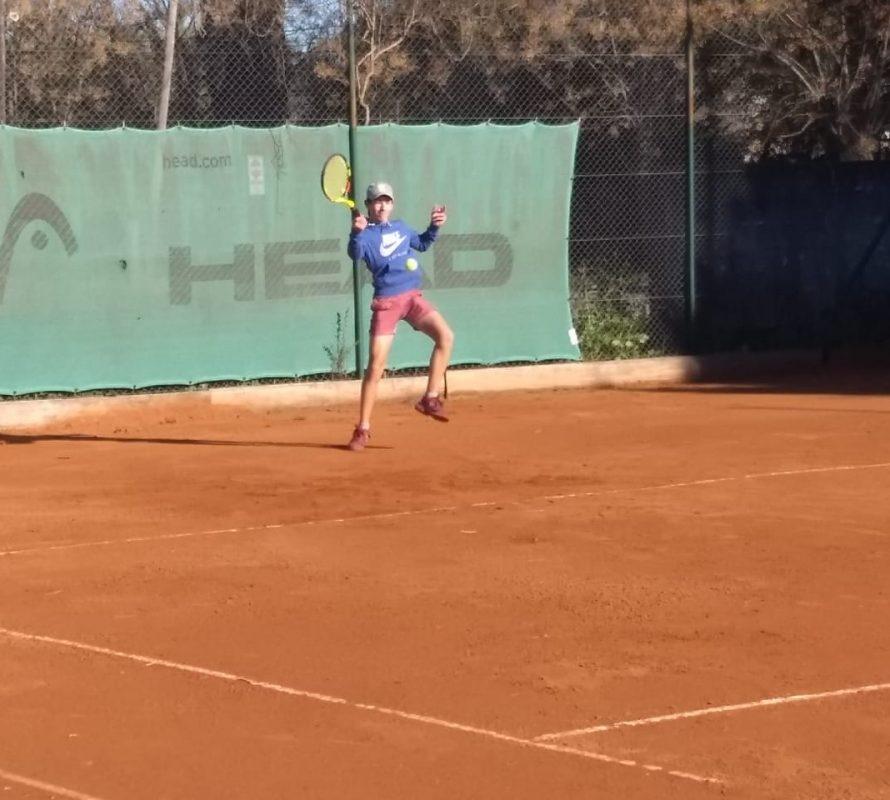 La vuelta del tenis en un jueves soleado y frío