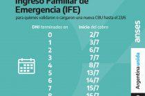 Anses: Calendario de Pago del Ingreso Familiar de Emergencia