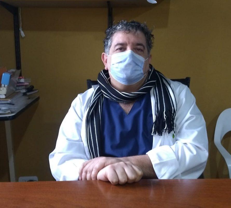 Dr. Pereyra: «Parte de la comunidad no entiende lo virulento que es este germen»