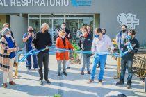 Se inauguró el Hospital Respiratorio de Navarro