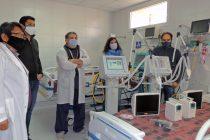Más equipamiento para el Hospital Respiratorio