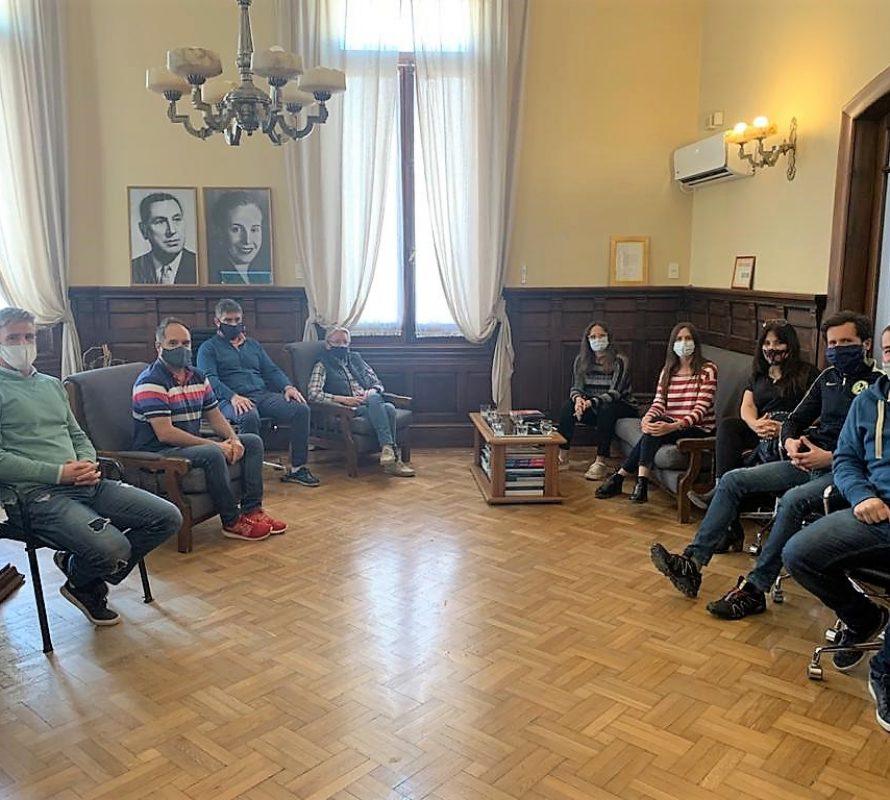 Representantes de la Educación, en el Municipio