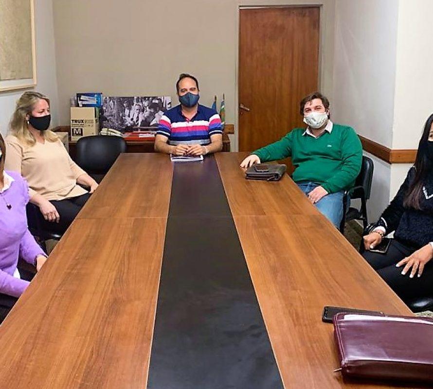 Santiago Maggiotti se reunió hoy con concejales de JPC