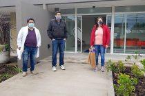 Donación del Instituto San Lorenzo al Hospital Respiratorio