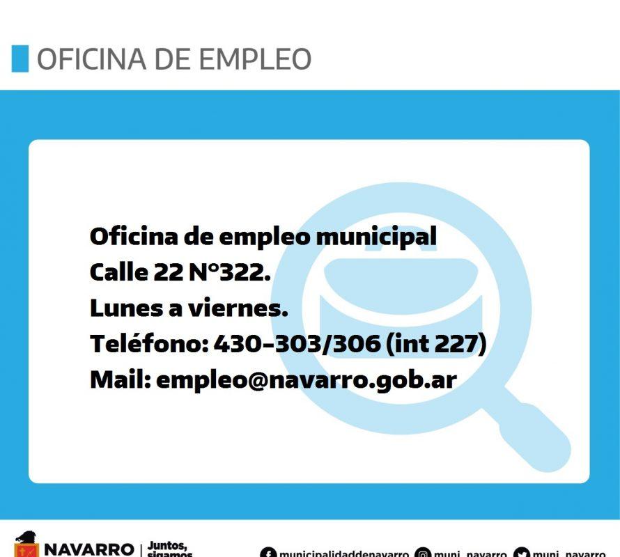 Atención: La Oficina de Empleo informa