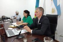 Se despidió Facundo Diz del HCD y asume como intendente