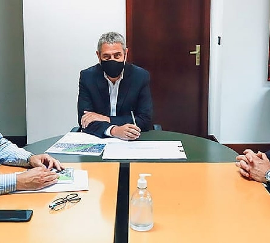 Facundo Diz vistió a Santiago Maggiotti y Jorge Ferraresi