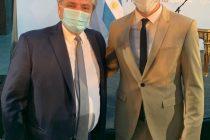 Facundo junto al Presidente de la Nación, en la jura de Ferraresi