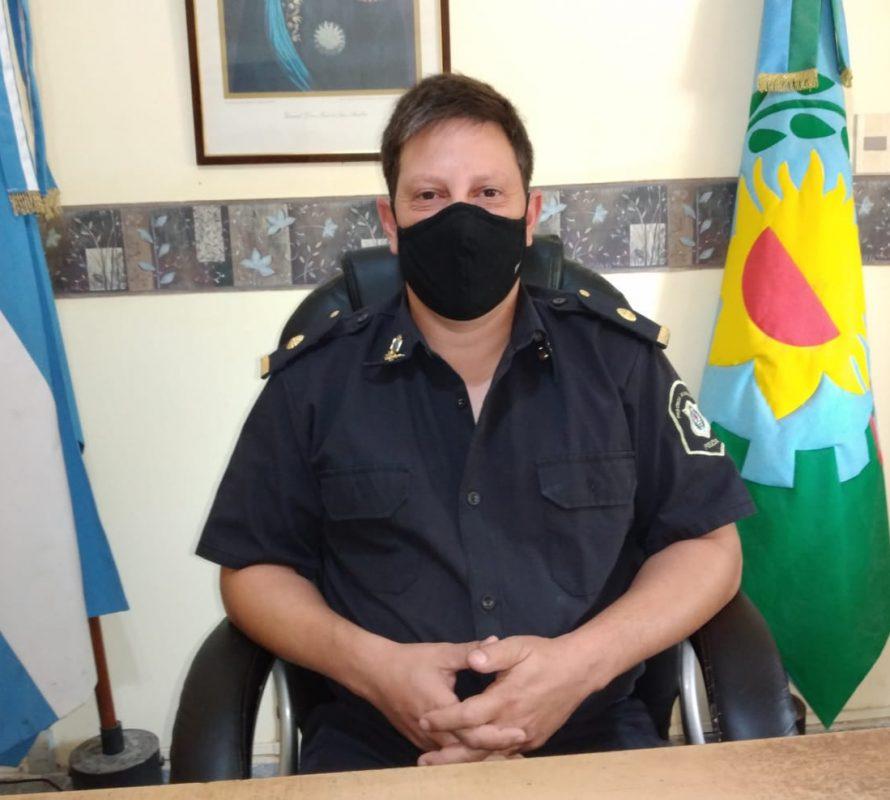 Informe Policia, por el jefe de la Estación, subcomisario Cristian Rodríguez