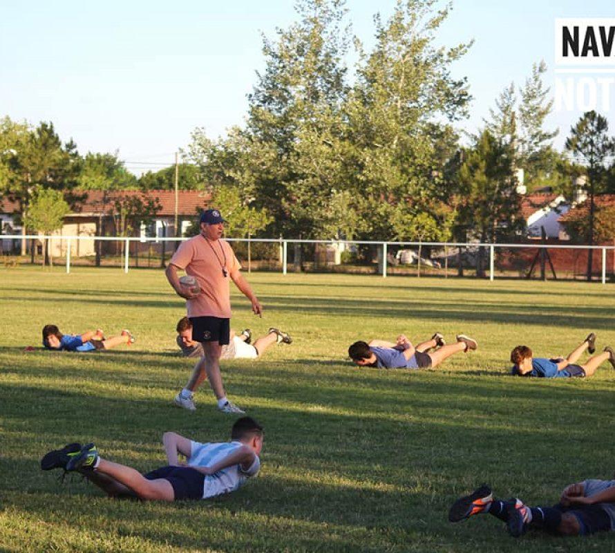 Daniel Rosso se muestra muy feliz con el regreso de las prácticas de rugby