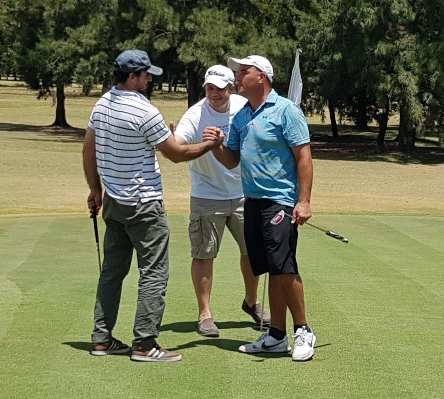 Mariano Zavidowski Tricampeón del Club de Golf