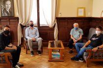 EFIN y Dorrego, reunión en el Municipio
