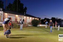 Se realizó encuentro nocturno de golf