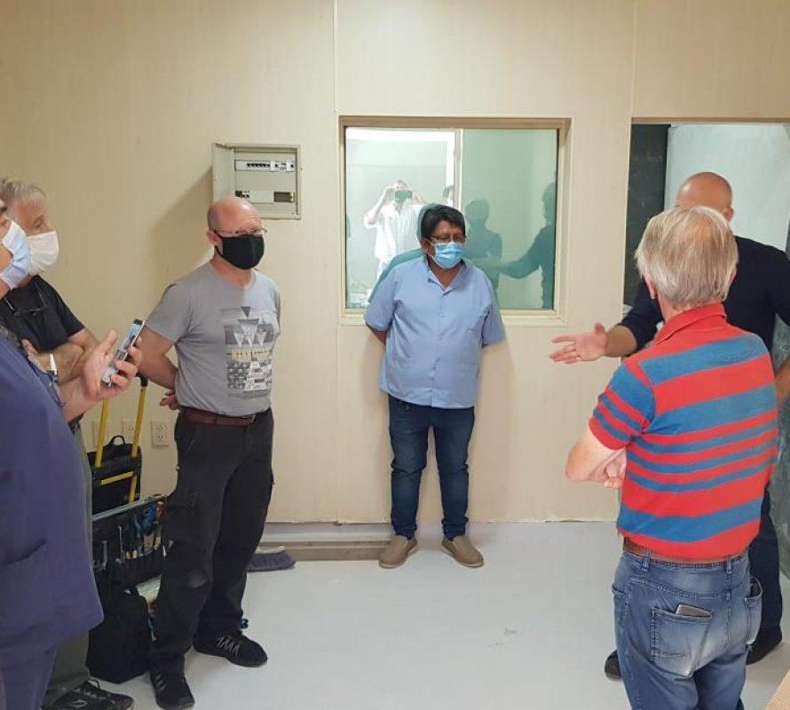 Llegó el Tomógrafo al Hospital San Antonio de Padua