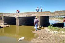 Municipio y Vialidad trabajan en la restauración de puentes en zona rural