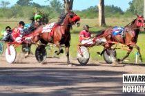 Buenas carreras de Trote en el Hipódromo de Navarro