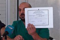 El Dr. Priromalli no sólo respondió a la duda planteada sobre su profesión sino que iniciará acciones legales
