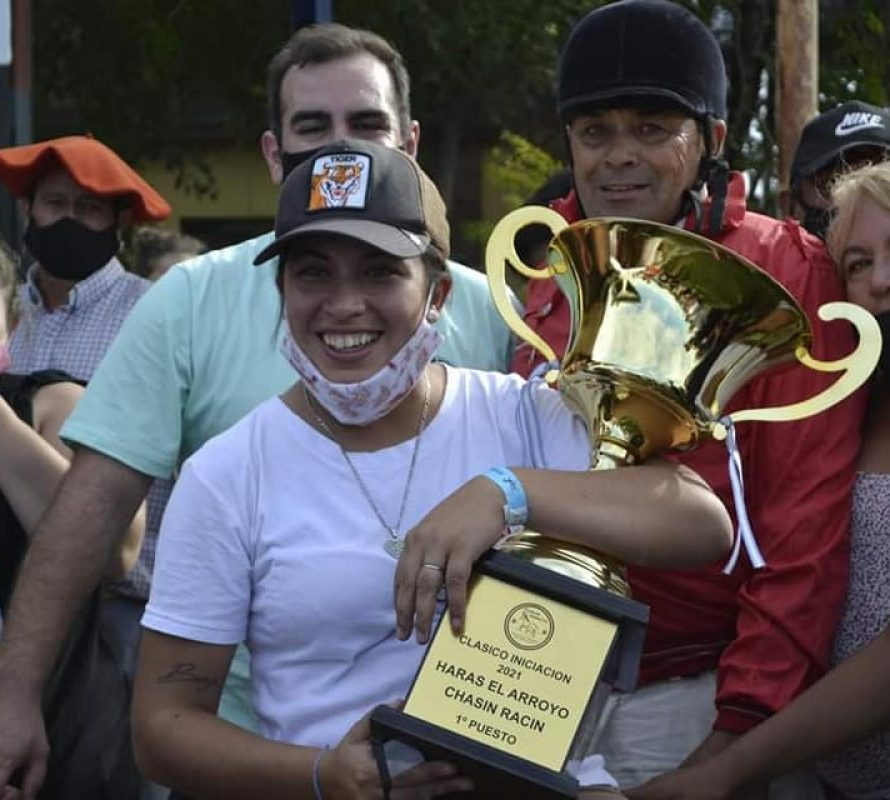 Trote – Clásico Haras El Arroyo – Donnas Chasin Admirable, dio la vuelta Olímpica