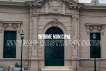 Comunicado del Municipio: Se suspenden algunas actividades, leer todo acá