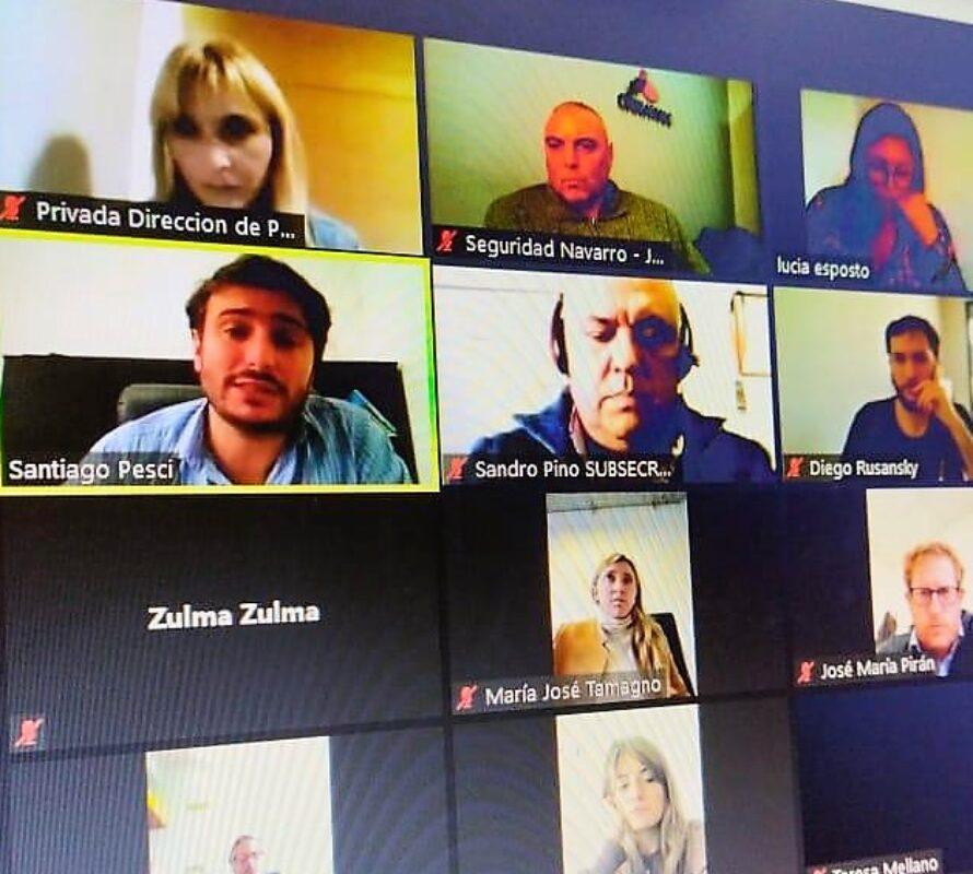 Municipales: Encuentro virtual por la Seguridad Vial