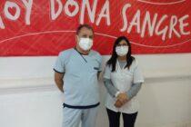 Hemoterapia: Nuevo jefe del área dijo «vengo a sumar en un servicio muy bien organizado»