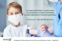 15 de junio: Día del Bioquímico