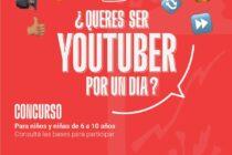 Concurso ¿Querés ser Youtuber por un día?