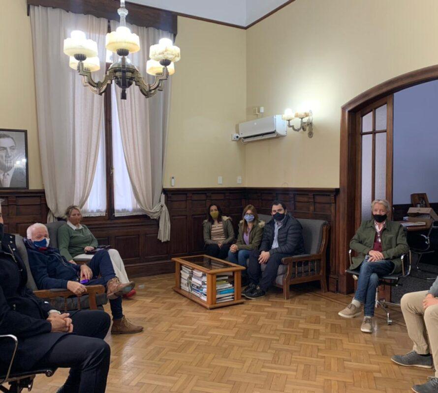 INFORME MUNICIPAL: El intendente Facundo Diz recibió al bloque de concejales UCR-Juntos por el Cambio
