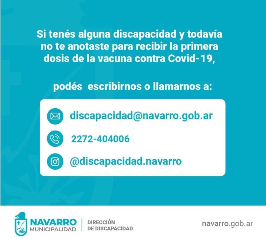 Discapacidad: VacunatePBA para recibir la vacuna contra el Covid