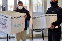 Llegaron a Navarro 1500 dosis de vacunas Sinopharm