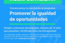 Municipio informa sobre Programa Promover