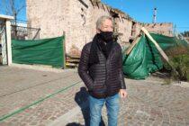 Se restaura la vieja caballeriza que será museo, en el Centro Cultural Dorrego