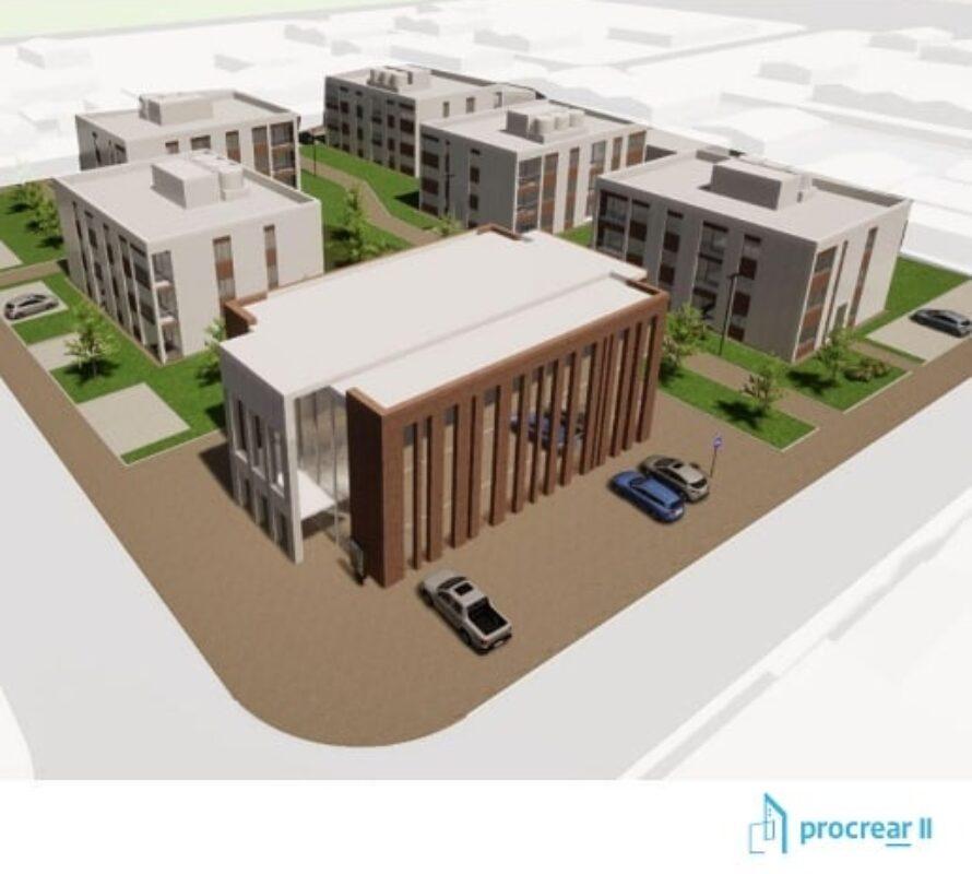 El proyecto urbanístico en la ex terminal, se presentó en el Concejo y en el Municipio, en conferencia de prensa