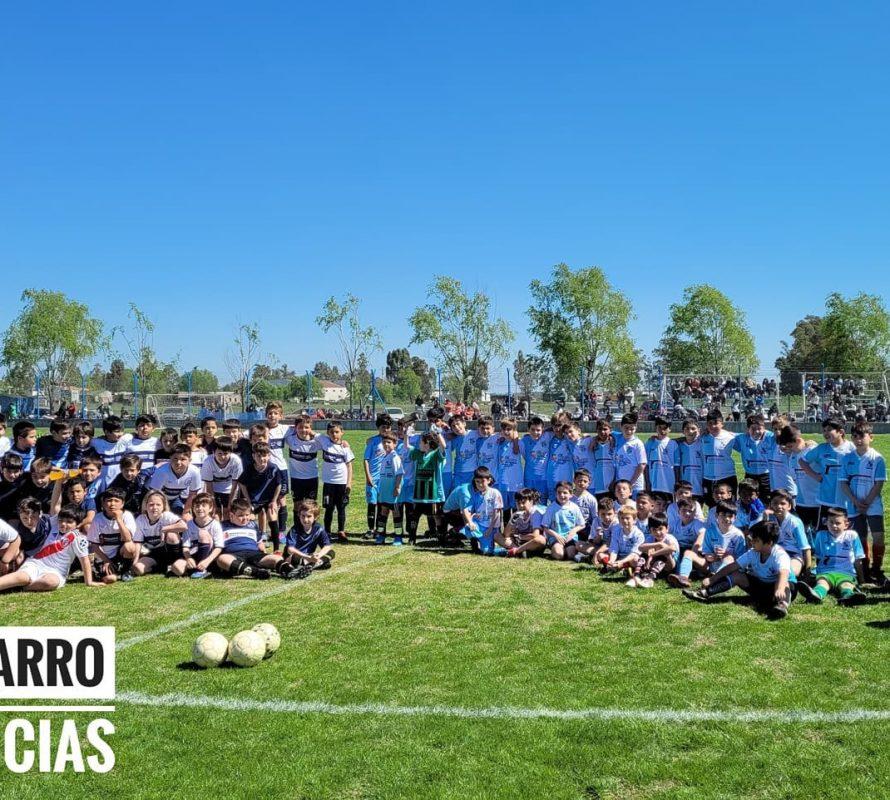 Con brillo se realizó el Clásico del Fútbol Menores y Juveniles de la Liga Lobense