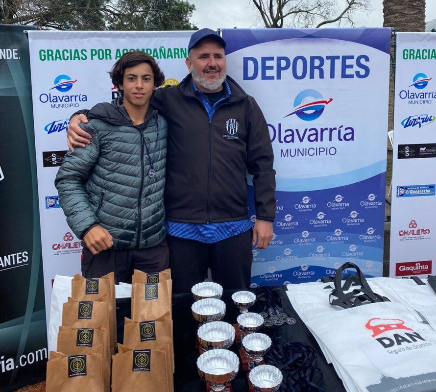 Olavarría: Mateo García Jurado se quedó con el torneo de tenis, jugando a un gran nivel