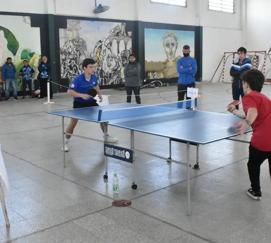 Finales regionales de Ping-Pong de los Torneos Bonaerenses en Navarro