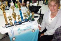 Gladys Fernández premiada en San Blas
