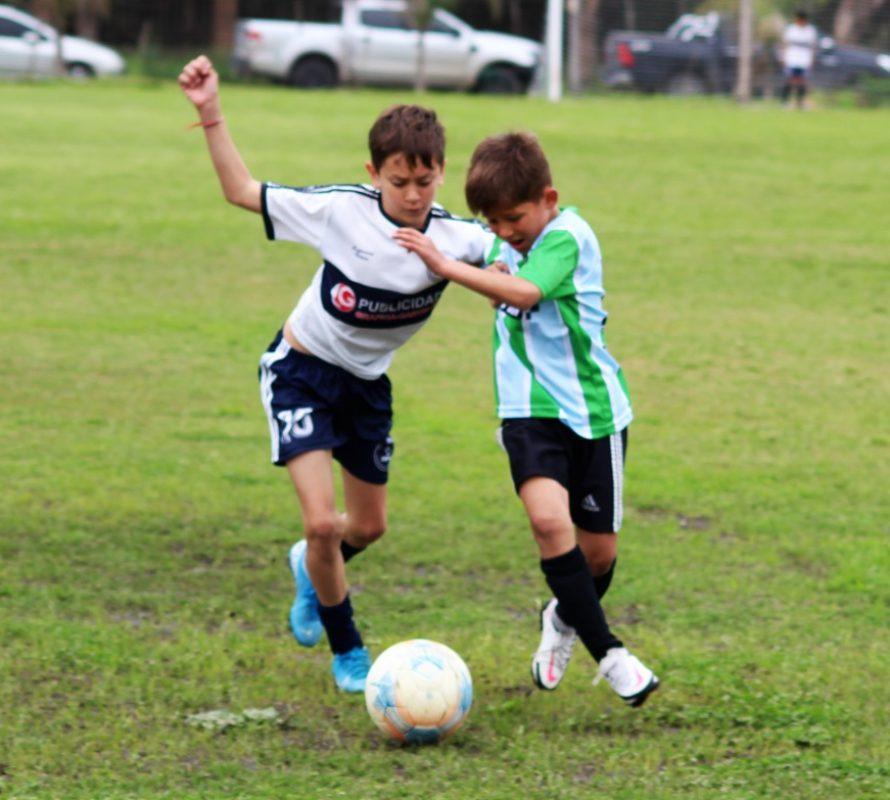 Menores de Fútbol de la Liga Lobense jugaron hoy