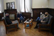 Representantes de UPCN visitaron al intendente